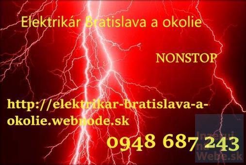 pravidelné kontroly elektroinštalácií -Elektrikár Bratislava-NONSTOP